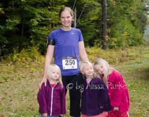 My half marathon last year, days before my dad passed away.